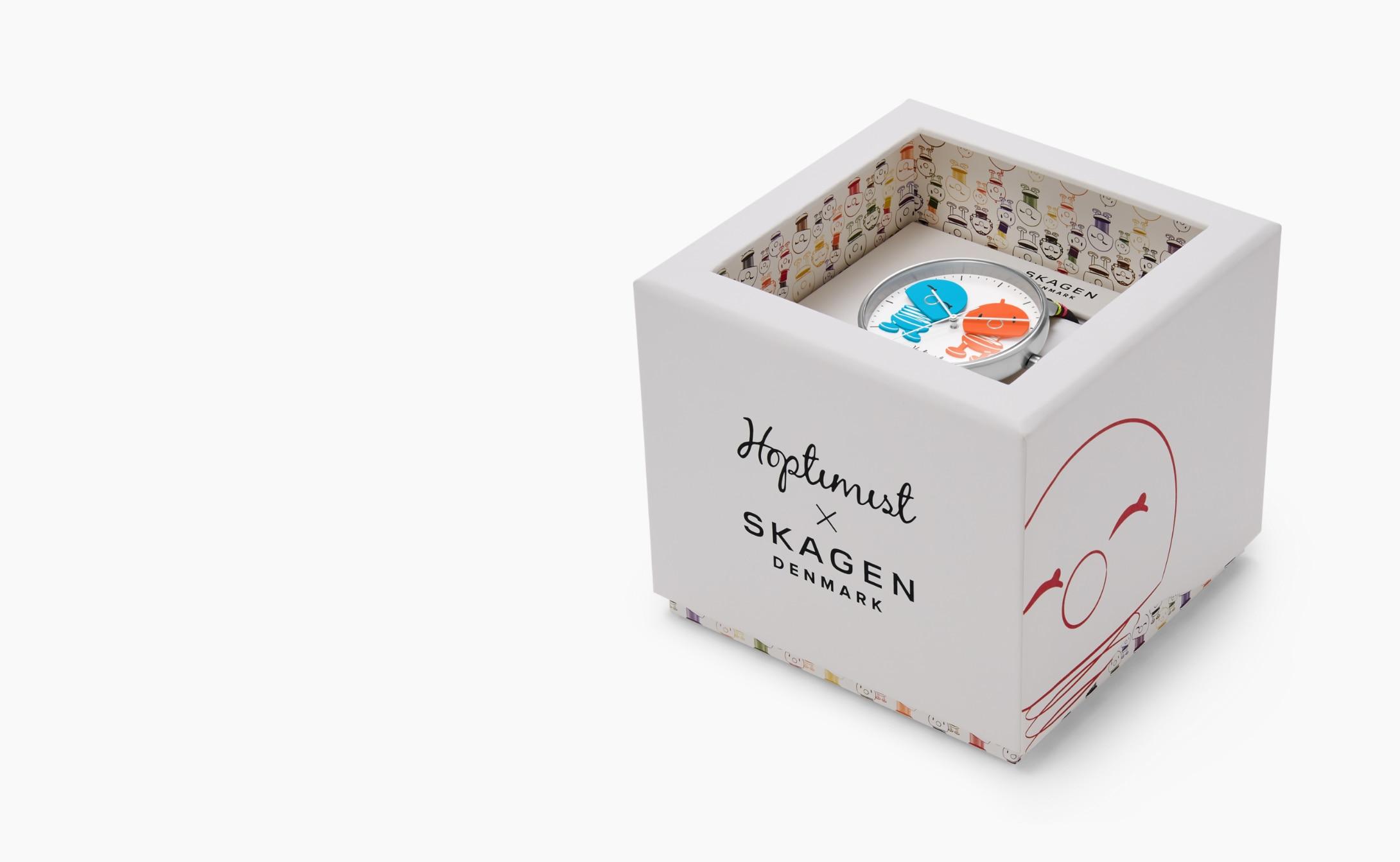 Image of Hoptimist packaging.