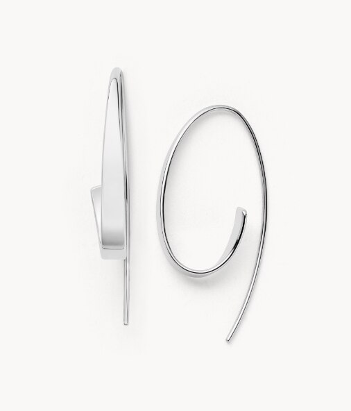 Silver tone Kariana earrings