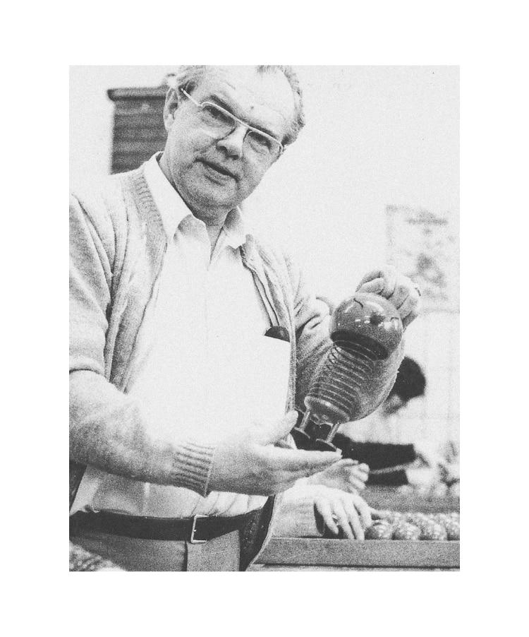 Image of Hoptimist designer in his workshop.