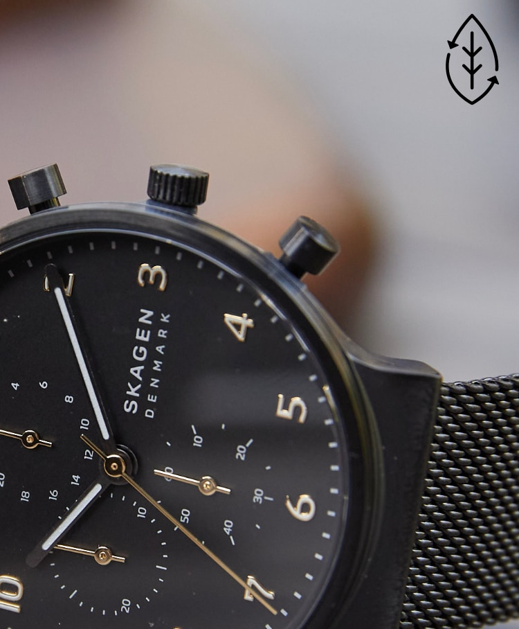 image of an ancher chronograph
