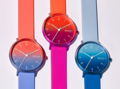 A set of Aaren Ombre watches