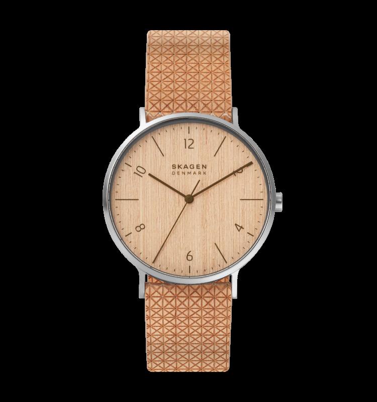 an image of the aaren naturals wood watch