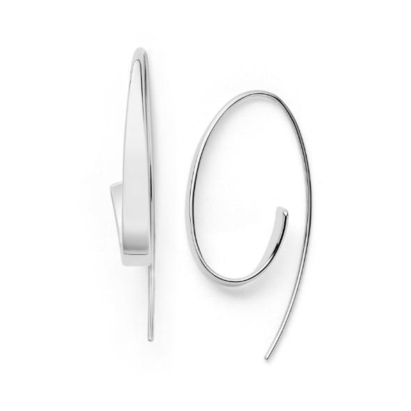 Kariana Silver-Tone Curl Earrings
