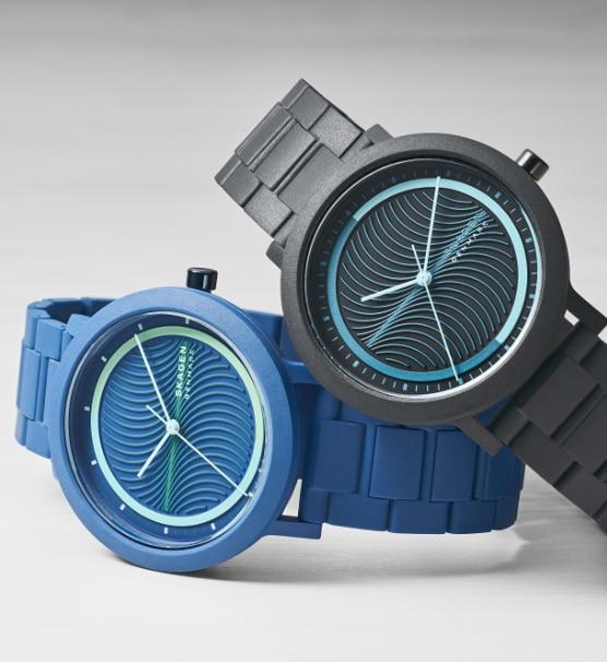 Image of two Aaren Ocean watches.