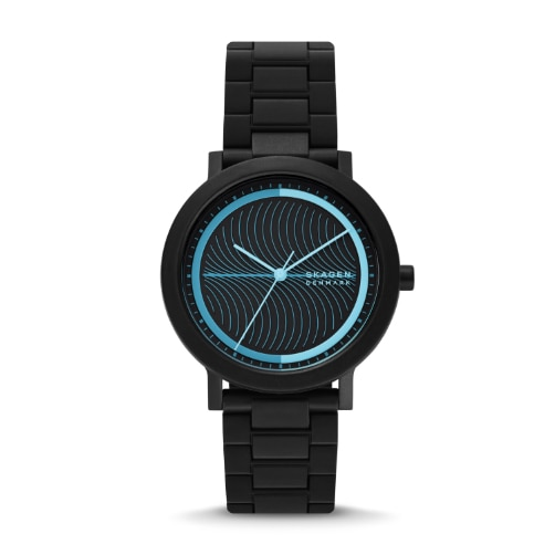 Image of black Aaren Ocean watch.